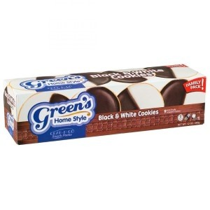Green's Individually Wrapped Mini Black & White Cookies
