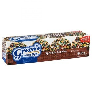 Green's Individually Wrapped Sprinkle Cookies