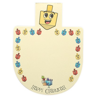 Chanukah Themed Magnetic Notepad