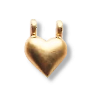 Additional Heart Bead Accessory
