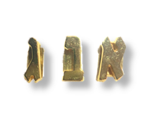 Additional Letters - Gold