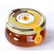 Flat Honey Jar 4 oz