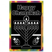 Chanukah Scratch Art Bulk