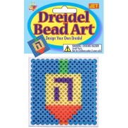 Dreidel Bead Art