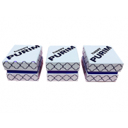 Happy Purim White Box - Mini - Set of 3