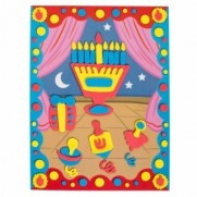 3D Foam Poster Chanukah Craft