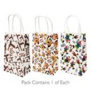 Purim Paper Gift bags - Pack of 3