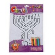 Chanukah Coloring set