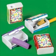 Aleph Bet Pencil Sharpeners - 12pk