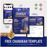 Chanukah Flyer Package - Customizable PDF's