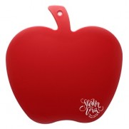 Apple Chopping Board - Red