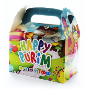 Purim Gift Box - 10 Pack - COLORED