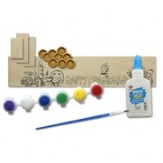 Create Your Own Wood Menorah - 12 pack