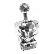 Crystal Dreidel with Plated Letters