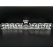 Glass Menorah Stemless Type B