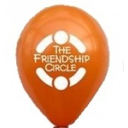 "Friendship Circle 12"" Latex Balloons - Bag of 100"