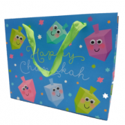 Happy Chanukah 3D Gift Bag