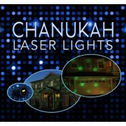 Chanukah Laser Lights