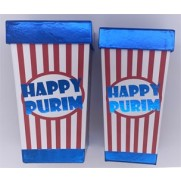 Trapezoid Happy Purim Box