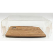 Mini Cutting Board with Clear Box