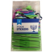 Chanukah Foam Stickers 3oz.