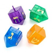 Refillable Dreidels - Case of 48