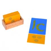 Sand Paper Aleph Bet, Vowels