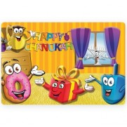 Happy Chanuka Placemat Kids
