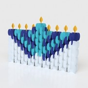 Nomad Craft Menorah & Dreidel