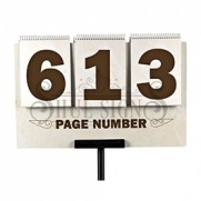 Page Number Sign (4 Digit) NEW