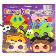 10 Plagues Foam Glasses