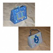 Mini Chanukah Purse Bag