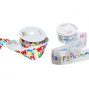 Purim Satin Ribbon - Large