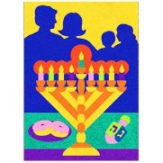 Chanukah celebration Sand Art