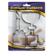 Chanukah Shaped Cookie Cutters