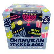 Chanukah Sticker Roll