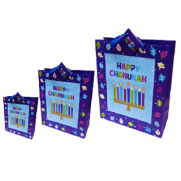 Chanukah Menorah Gift Bag