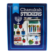 Chanukah Stickers 200 Pack