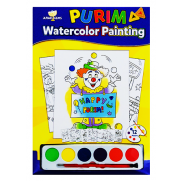 Purim Watercolor Painting