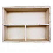 Compartmented Wooden Boxes