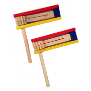 Painted Wood Graggers