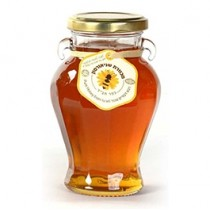 Curved Honey Jar 14 oz