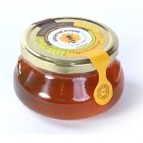 Flat Honey Jar 7.5 oz