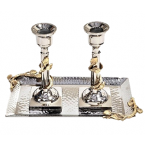 Candleholders with Tray