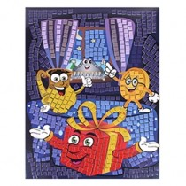 Chanukah Mosaic Foam Art Kit