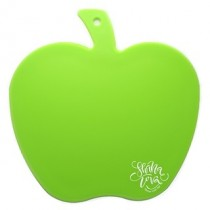Apple Chopping Board - Green