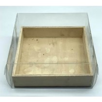 Wood Box with Clear Box