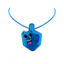 LED Chanukah Necklaces - 12 in a pack