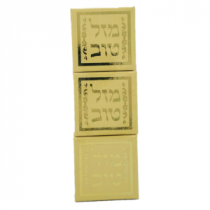 Mazal Tov Mini Boxes - Beige - Set of 3