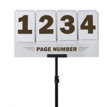 Page Number Sign